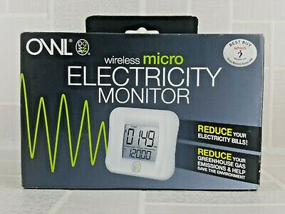 OWL wireless micro electricity monitor. Never opened or used  UK FREEPOST     12