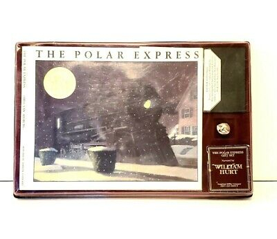 The Polar Express Set by Chris Van Allsburg (Published in 1985)