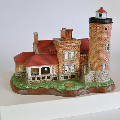 Lefton Historic American Lighthouse Collection Old Mackinac Point, MI LE 1998