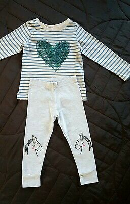 Girls Next Top And Leggings Outfit 2-3 Years
