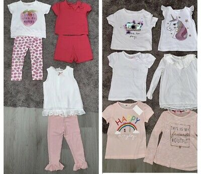 Girls Outfits Bundle Age 4-5 Years Next, River Island, H&M