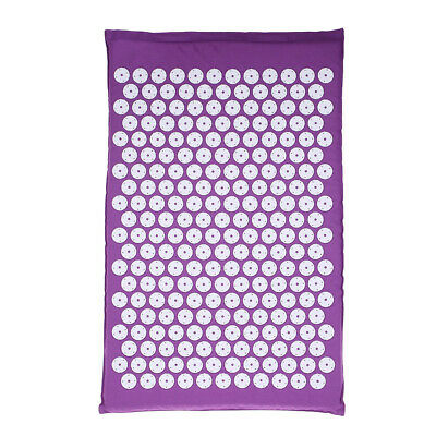 Acupressure Mat with Pillow & Ball Set for Relieving Stress Back & Neck M4D2