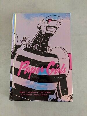 Paper Girls Vol 2 hardcover - page printing error but condition is perfect