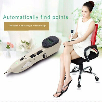 Electronic Acupuncture Health Pen Free Pain-Relief CE LCD Automatical Massager