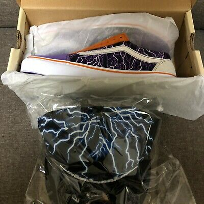 VANS MINDSEEKER OLD Skool LIGHTNING 2ND Size US 9 & New Era