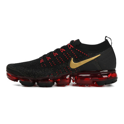 Nike Air Vapormax Flyknit 2 Blace&Red Movement Fitness Running shoe - 2018