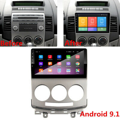 "9"" Android 9.1 Radio Stereo 1GB+16GB For Mazda 5 2005-2010 GPS Navigation 3G 4G"