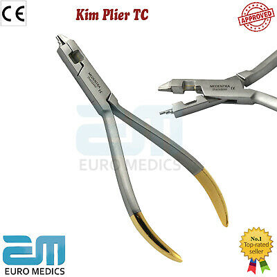 Kim Pliers Orthodontic Arch wire Forming Bending Bends Wire TC Dental Instrument