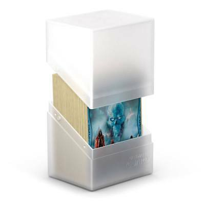 Ultimate Guard - Boulder Deck Case 80+ Frosted - Gaming Card Box for Arkhive