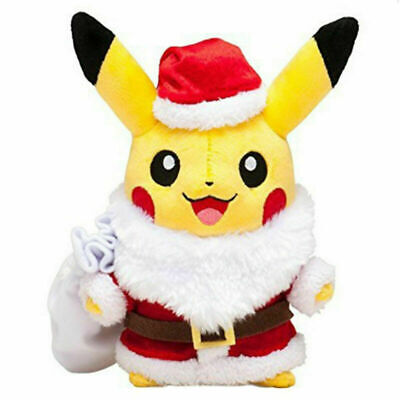 Pokemon Detective Pikachu Soft Toys Stuffed Plush Teddy Doll Kid Gift Christmas