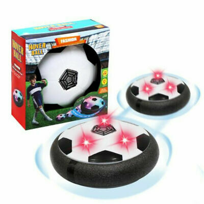 Indoor LED Hover Ball Air Power Floating Soccer Ball Light Up Football Toy W9R3Q