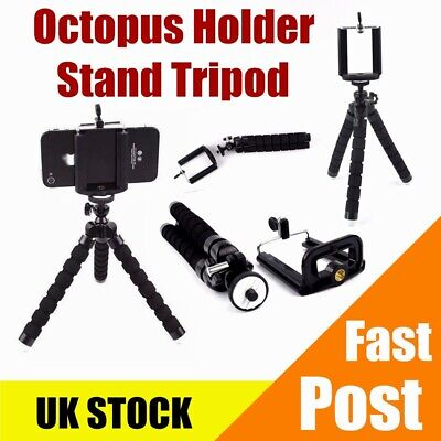 Pro Universal Mini Tripod Flexible Octopus Holder Stand Mount for Phone Camera