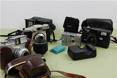 Various Cameras 35m&digital Cameras & Accessories See Images for Contents