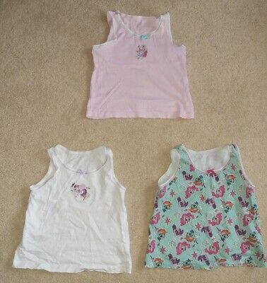 Girl/'s Ex Store 3 pack my little pony crop tops just 3.99 each
