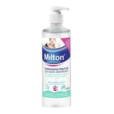 Milton Antibacterial Hand Gel, 500ml