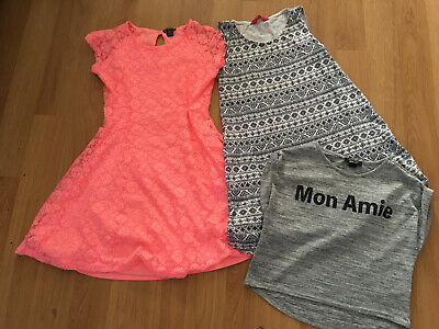 Girls Clothes Bundle Age 12-13 Yrs New Look-primark -YD