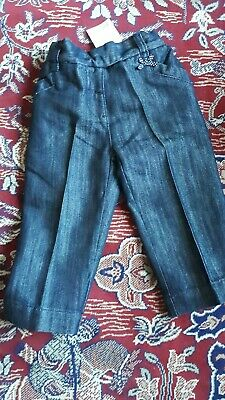 NEXT Cropped Denim Trousers  Age 3-4 yrs  *NEW*