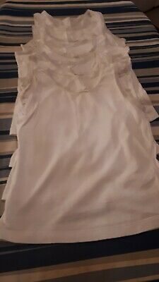 5 x Girls vests 5-6 yrs **Excellent Condition**