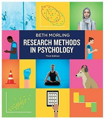 RESEARCH METHODS IN PSYCHOLOGY- BETH MORLING (3rd edition- 2017 .P.D.F.)