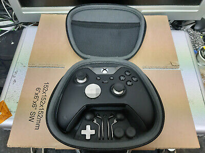 Official Microsoft Xbox one Elite Black wirless controller  Pre owned 14