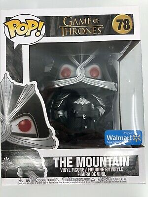 "#78 Funko Pop! Game of Thrones 6"" The Mountain Masked - Walmart Exclusive"