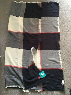 Joules square oversized scarf , X Heyford New with tags