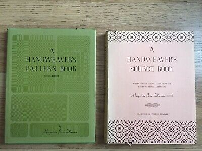 Handweavers Pattern Book & Handweavers Source Book Marguerite Porter Davison