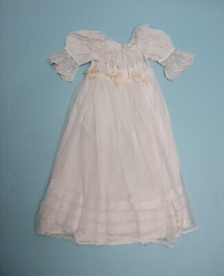 Antique Baby Christening Gown with Honiton lace