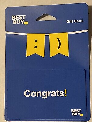 Best Buy Gift Card - Physical $75 Dollars BestBuy