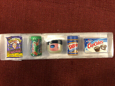 5 Surprise Mini Brands Display From Case. Sealed In Original Plastic. Free Ship!