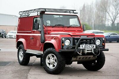 2003 Land Rover Defender 90 Td5 County Hard Top Winch Side Steps No Reserve