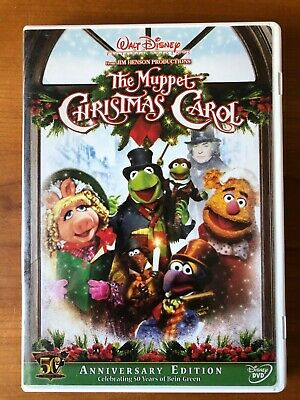 The Muppet Christmas Carol (DVD, 2005, 50th Anniversary Edition) Great Condition