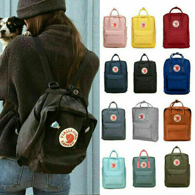 7/16/20 L Fjallraven Kanken Handbag Waterproof Sport Backpack Outdoor Travel Bag