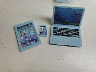 My Bittany's Blue Laptop, Tablet, Cell Phone American Girl Doll Acc. SEE DESC
