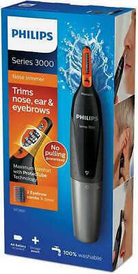 Philips Series 3000 Battery-Operated Nose Ear Eyebrow Trimmer NT3160/15