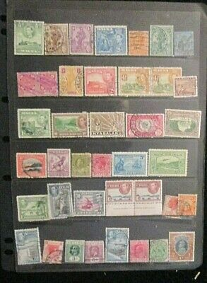 BRITISH EMPIRE  QV.-KGVI mixed mint and used lot 14