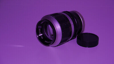 Japan made Hanimex 135m/F3.5 tele lens. M42 Screw mount.