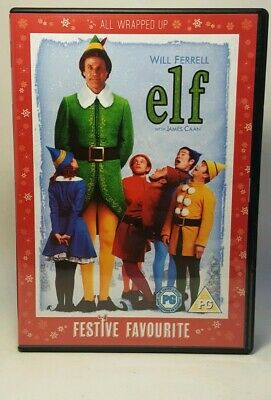 Elf DVD (2005) Will Ferrell, James Caan  2 discs Set