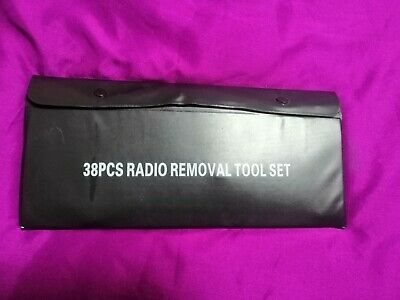 38 Piece Radio Removal Set