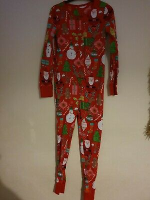 Christmas All In One 10 Years Pyjamas From Next