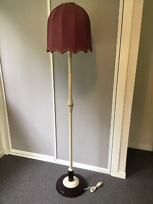1930's Art Deco Standard Bakelite Floor Lamp & shade