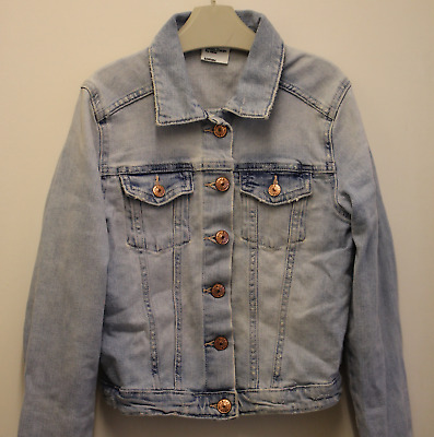 Girls H&M Denim Jacket - Size:8-9yrs - EUR 134cm