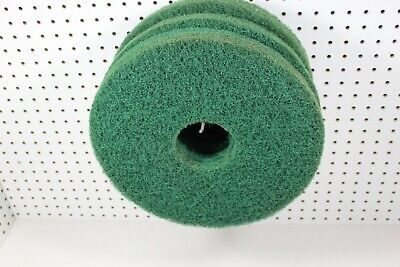"13"" Green Floor Maintenance Scrubbing Pad, 6/Case"