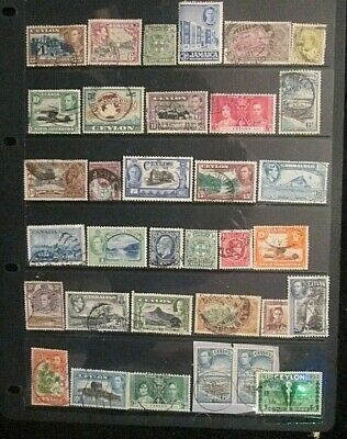 BRITISH EMPIRE  QV.-KGVI mixed mint and used lot 16