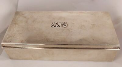 Vintage Tiffany and Co Sterling Silver 23093 Cigarette Box with Engraving