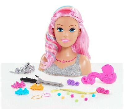 Barbie Dreamtopia Rainbow Styling Head Doll¦Styling Accessories¦Creative¦3 Year+