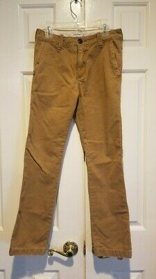 Abercrombie & Fitch A&F Kids Boys Straight Chinos Size 12