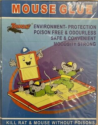 Mouse Trap Board Household Rat Catcher Poison Free Ultra Sticky & Strong UK