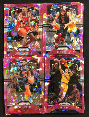 2019-20 Panini Prizm Basketball Pink Ice Prizm Parallel Cards Lot You Pick