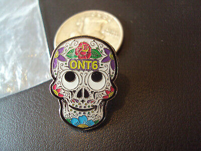 Peccy Sugar Skull Pin Rare Amazon Employee Exclusive Day Of The Dead Muertos